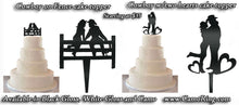 Custom Cake Topper - Your choice of colors/styles