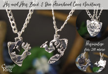 ArrowHead His & Hers Buck & Doe Necklace Set