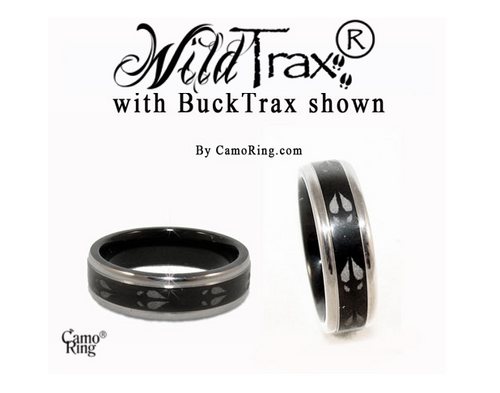 WildTrax Black Titanium Ring