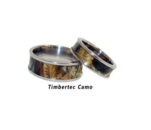 Camo Stainless Steel Redneck Style Band