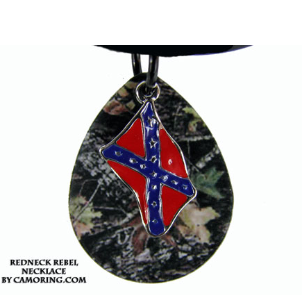 Redneck Rebel Pendant/Necklace
