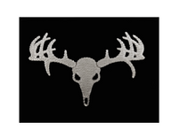 The Buck Ring - Black  Domed+ FREE DOE RING