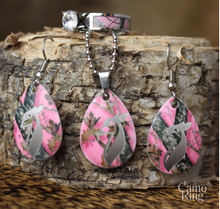 Camo Drops - Necklace & Earring Set