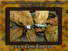 "Camo ""SweetHeart"" Wedding set"