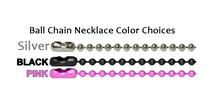 Pink CZ & Pink Camo Drops Necklace/Pendant set