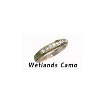 Camo CZ Channel Set Engagement Band