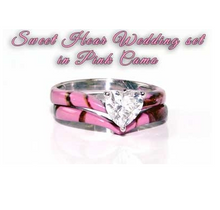 "Camo ""SweetHeart"" Wedding set - Last Chance SALE"