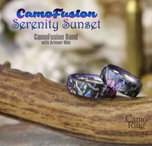 CamoFusion Serenity Sunset Stainless Steel Band