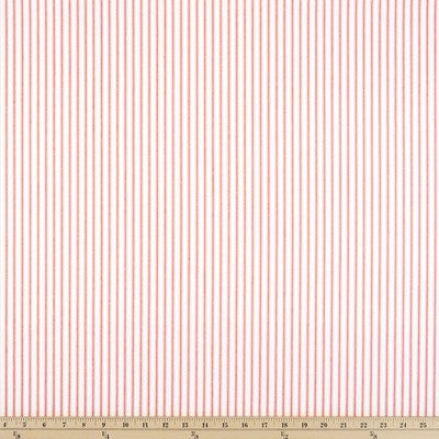 Magnolia Home Fashions Berlin Ticking Stripe Pink / White Fabric 54