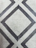 "Embroidery, Diamond, Sparkle Color Natural / Gray   Fabric 54"" wide,"
