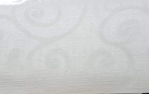 "54"" Wide Jacquard Fabric Off White"