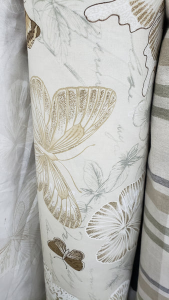 Printed Cotton Fabric Butterfly