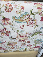 Printed Linen Tex Fabric Approx 54 inches wide