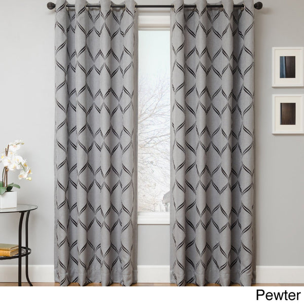 Softline Roxy Grommet Top Curtain Panel by Softline Drapery King Toronto