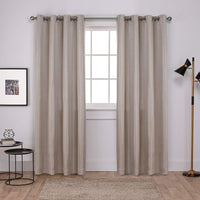 Exclusive Home Curtains Carling Woven Blackout Grommet Top Panel