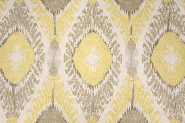 Ceylon Ikat Rod Pocket Single Curtain Panel