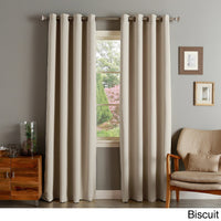 Blevins Absolute Zero Solid Max Blackout Thermal Grommet Curtain Panel See More by The Twillery Co.