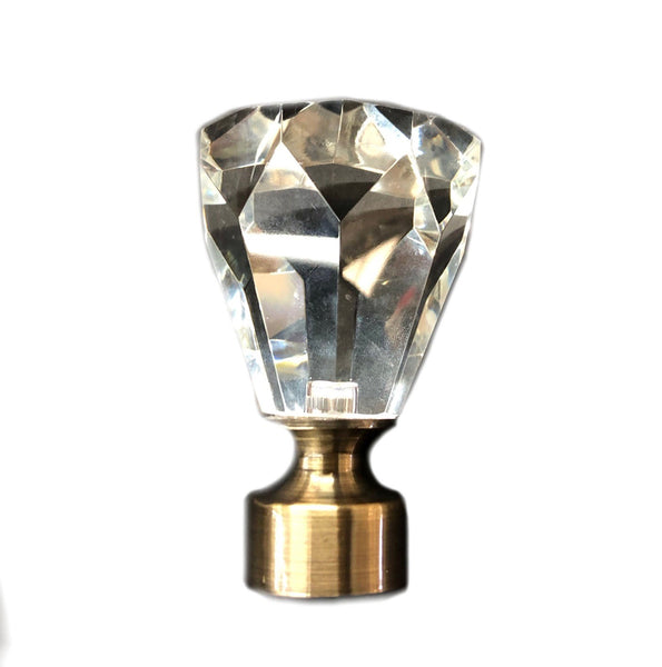 Princess Cut Finial