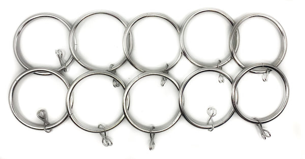 Charley Metal Curtain Rings By Symple Stuff $12 /10