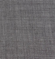 Grey Linen, Lined with Grommets