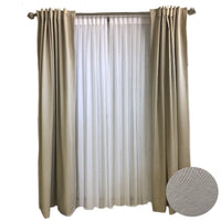 Taupe Solid Curtains