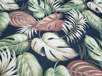 Tommy Bahama Indoor / Outdoor Palmiers Caviar Fabric