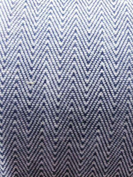 Herringbone Navy blue at drapery king Toronto $19 a yd