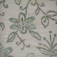 Floral Vinyard Embroidered Panel