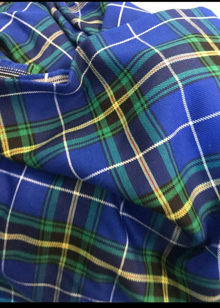 Nova Scotia Tartan 100% cotton 15 Mtr pc