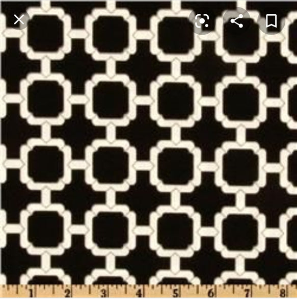 "Hockley Fresco Noir 54"" Wide, Out Door Fabric"