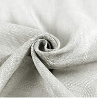 Grommet Linen Look Lined Color Gray 50 x 108 long