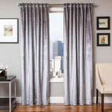 Tantra Velvet Curtain Panel with Lining and Back-tabs -ASH