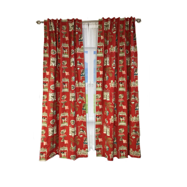 Linen Pattern Curtains