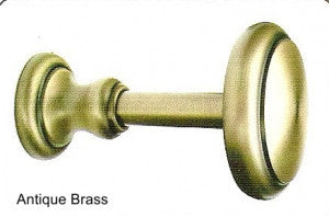 UHB Holdback by TRAX – 1 1/8″ Decorative from The Brilliance Collection (Antique Brass)
