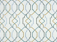 "Grayson 518 Seaside Covington Fabric Embroidery 54"" wide"