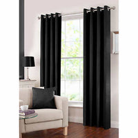 Gouchee Design Solar Blackout Panel Black 54X95 In