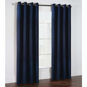 Gouchee Design Solar Blackout Panel Navy 54X95 In