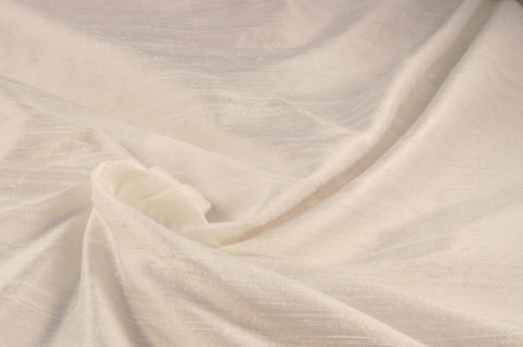 Ivory Dupioni Silk 54 inces wide