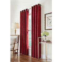 Home Decorators Collection Grommet, Burgundy, 54 x 95