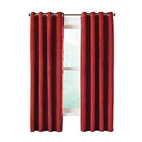 Home Decorators Collection Grommet, Burgundy, 54 x 84