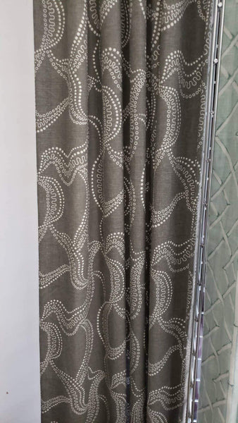 Gray Ribbons Printed Collection 50 X 96