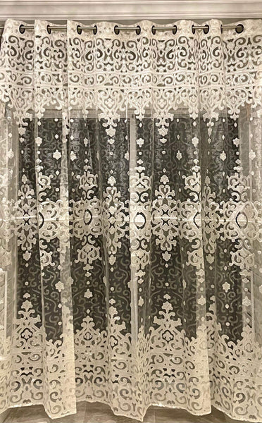 Embroidered Sheer Toronto Drapery King Toronto 416-783-7373