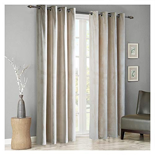Sophia Grommet Drapery Panel 50 X 96 Light Grey, Lined