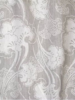 "Biloba Linen Drapery Panel 96"" - Sarah Richardson Designer Fabric by Kravet"