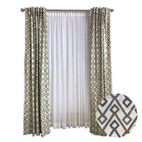 Cotton Prints Pattern Curtains