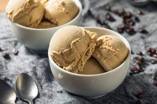 No-Churn Coffee Ice Cream