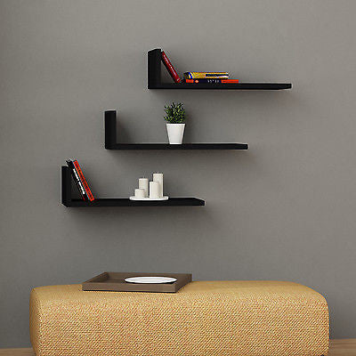 L-Model Modern Wall Shelf