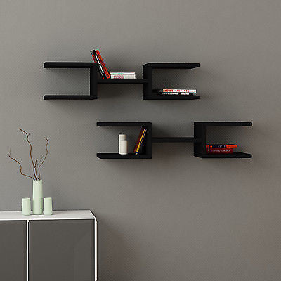 Crab Modern Wall Shelf Set