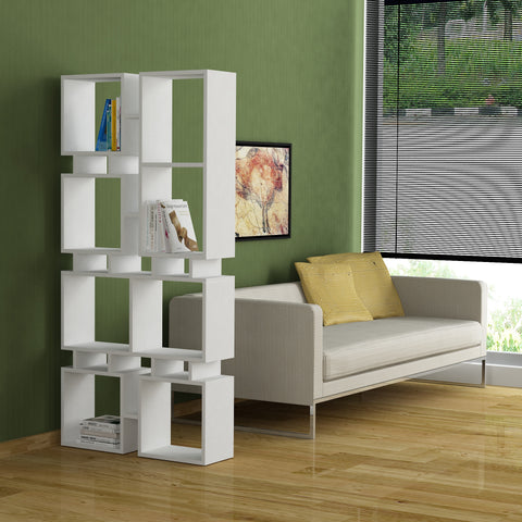 Rail Bookcase No.1 White
