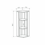 Nati Short Bookcase
